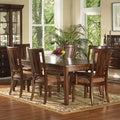 Somerton Dwelling Rhythm 7-Piece Hardwood Dining Set