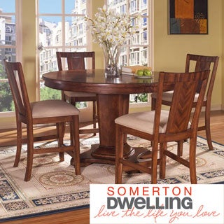 Somerton Dwelling Runway 5-piece Counter Height Dining Set