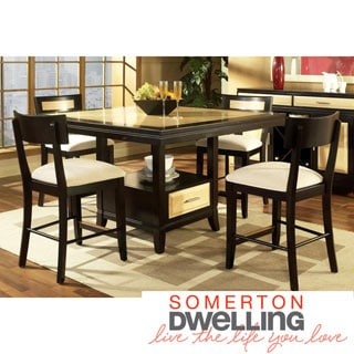 Somerton Dwelling Insignia 5-piece Counter Height Dining Set