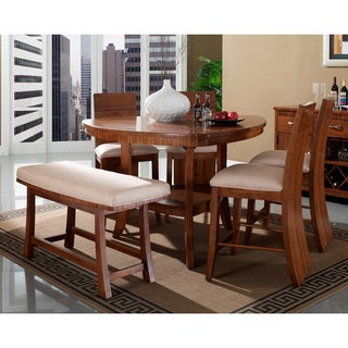 Somerton Dwelling Milan 6-piece Counter Height Dining Set