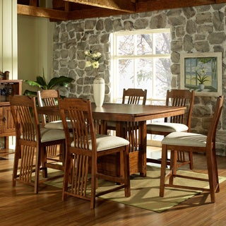 Somerton Dwelling Craftsman 7-piece Counter Height Dining Set
