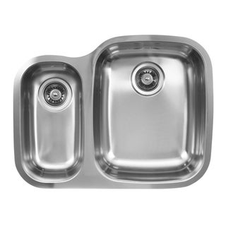 Stainless Steel Undermount Double Bowl 70/30 Kitchen Sink