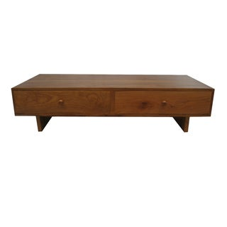 Klasik 4-drawer Reclaimed Teak Cocktail Table (Indonesia)