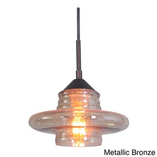 'Transference' Swivel Point 1-light Mini Pendant