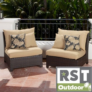 RST Delano Armless Chair Patio Seats (Set of 2)