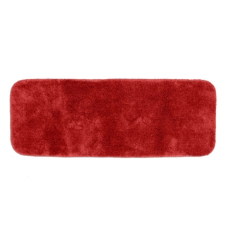 Posh Plush Garnet Red 22 x 60 Bath Runner