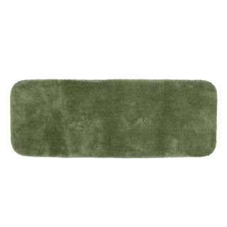 Somette Posh Plush Silver Sage 22 x 60 Bath Runner