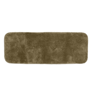 Posh Plush Taupe 22 x 60 Bath Runner
