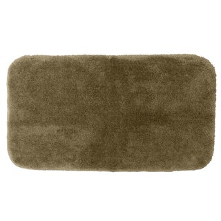 Somette Posh Plush Taupe 30x50 Bath Rug