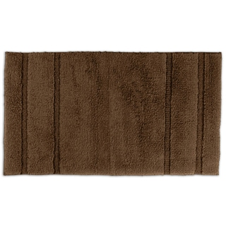 Tranquility Cotton Chocolate 30x50 Bath Rug