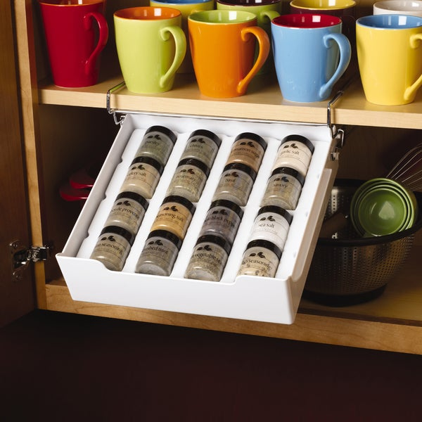 Kamenstein Extra Drawer 12-bottle Spice Rack