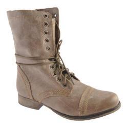 Women's Steve Madden Troopa Stone Leather