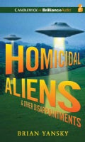 Homicidal Aliens & Other Disappointments (CD-Audio)