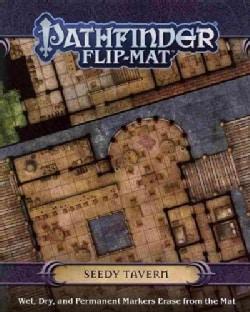 Seedy Tavern Pathfinder Flip-Mat (Paperback)