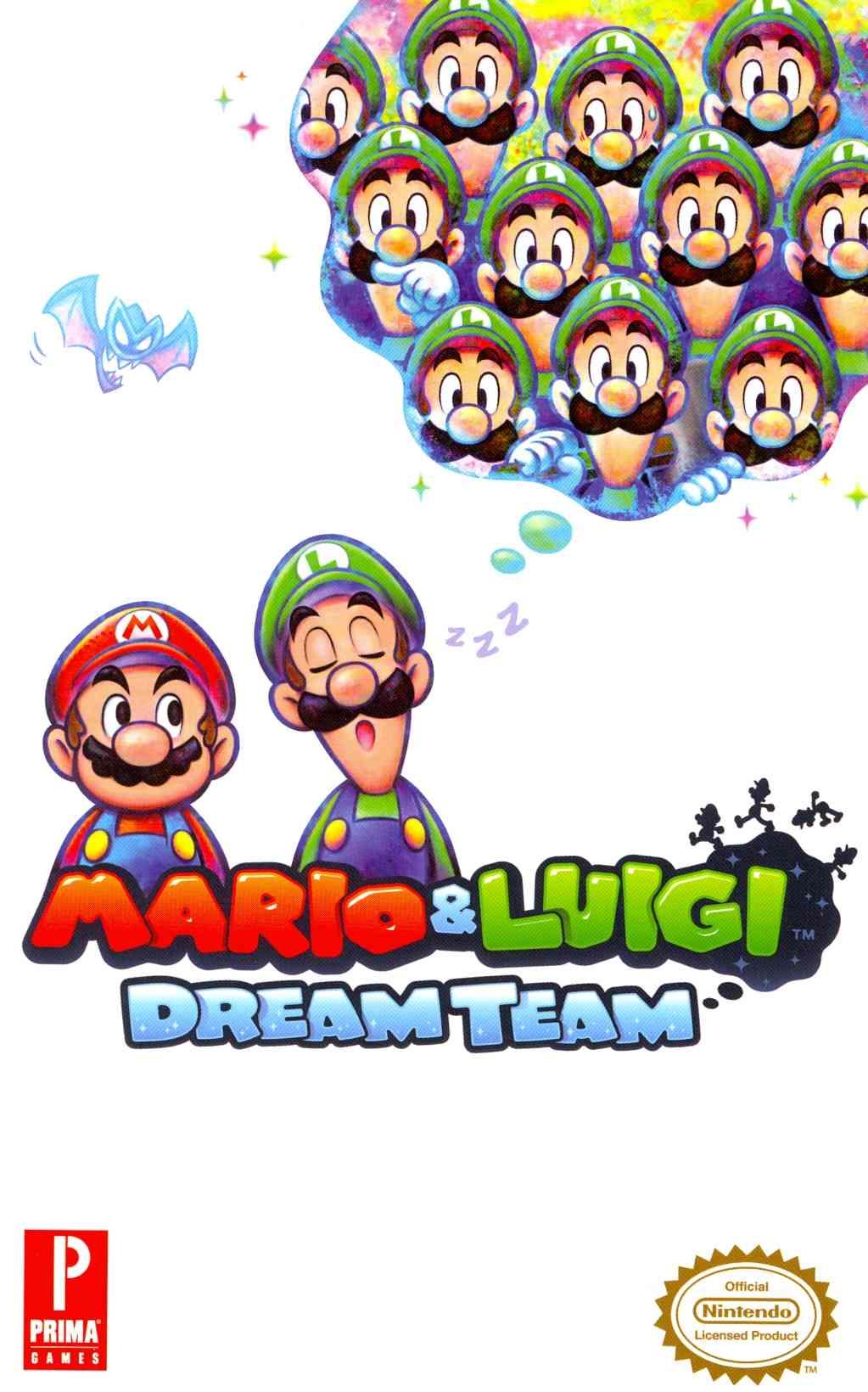 Mario & Luigi Dream Team: Prima Official Game Guide (Paperback)