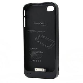 4XEM External Backup iPhone 4/4S Battery Case/Cover (Black)