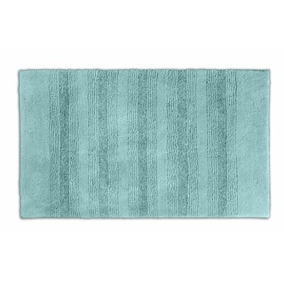 Somette Westport Stripe Sea Glass 24 x 40 Bath Rug