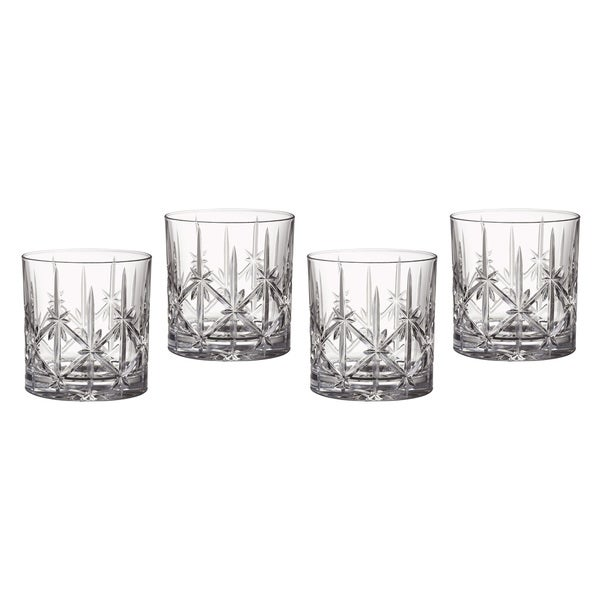 Marquis by Waterford Sparkle Double Old Fashioned Glasses (Set of 4)