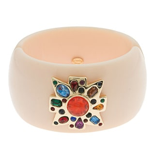 Kenneth Jay Lane Multi-Color CZ Bangle