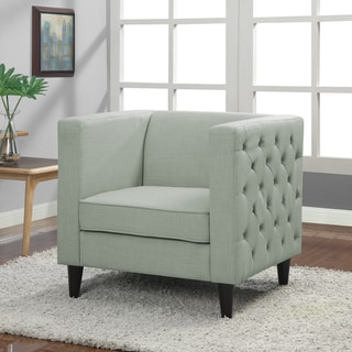 Mystic Sea Side-tufted Club Chair