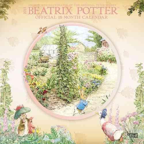 Beatrix Potter Official 18-Month 2014 Calendar: Author and Illustrator of the Original Peter Rabbit (Calendar)