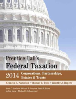 Prentice Hall's Federal Taxation 2014: Corporations, Partnerships, Estates & Trusts