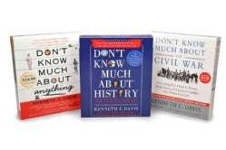 Kenneth C. Davis Audio Bundle: Don't Know Much About the Civil War / Don't Know Much About History / Don't Know Mu... (CD-Audio)