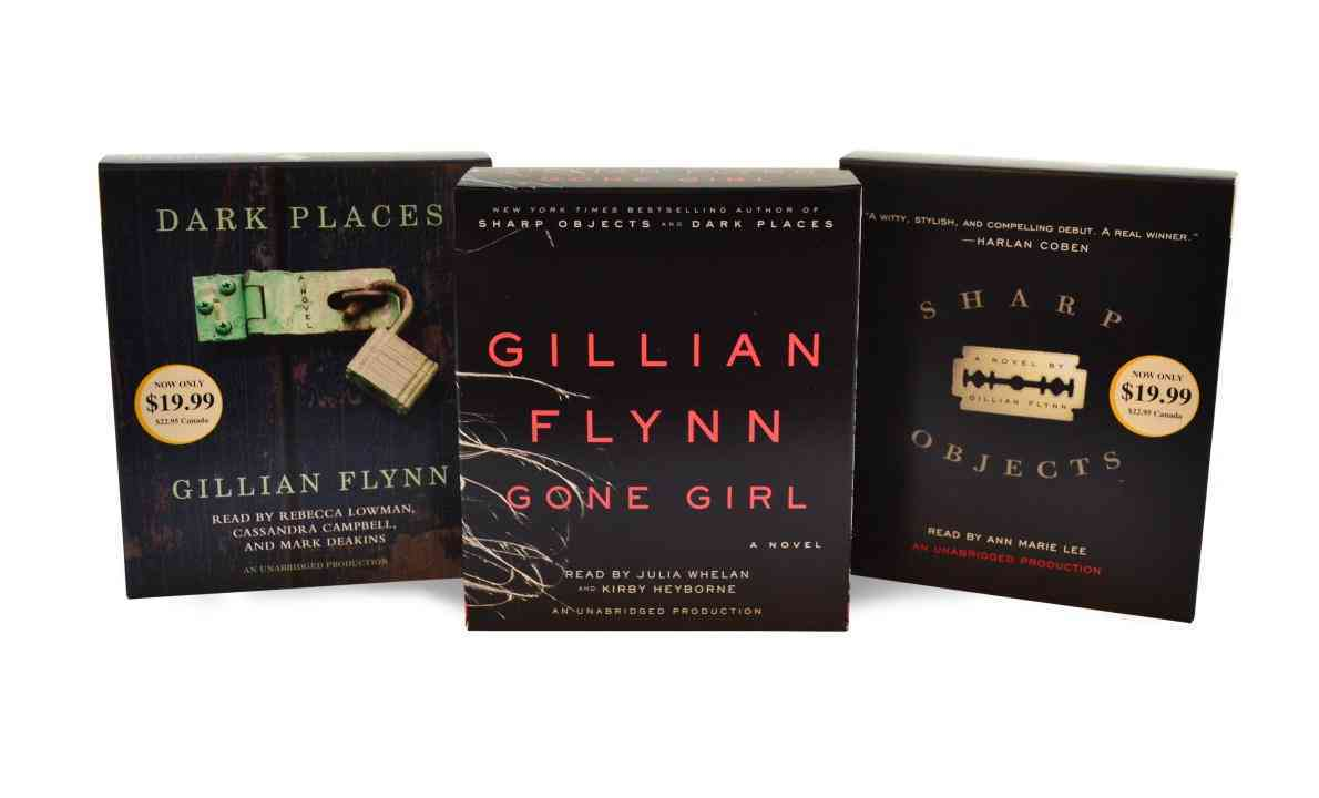 Gillian Flynn Audiobook Bundle: Gone Girl/Dark Places/Sharp Objects (CD-Audio)