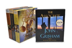 John Grisham Audiobook Bundle 2: The Associate/ The Confession/ The Litigators/ The Racketeer (CD-Audio)