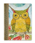 Deconstructed Journal Artist Series Wise Owl (Notebook / blank book)