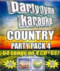 Various - Party Tyme Karaoke: Country Party Pack 4