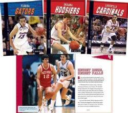 Inside College Basketball Set 2: Syracuse Orange, Louisville Cardinals, Indiana Hoosiers, Florida Gators (Hardcover)