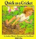 Quick As a Cricket (Hardcover)