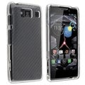 BasAcc Clear Crystal Case for Motorola Droid Razr HD XT926