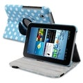 BasAcc Dot Swivel Case for Samsung Galaxy Tab 2 P3100/ P3110/ 7-inch