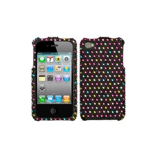 BasAcc Dots Diamante Case for Apple iPhone 4/ 4S