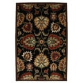 Pompeii Multi Black Rug (8' x 10')