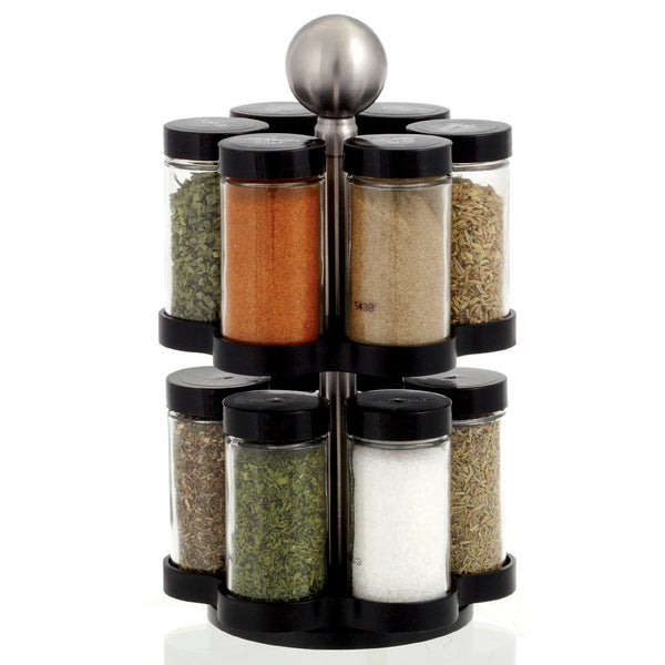 Kamenstein 'Madison' 12-jar Revolving Spice Rack