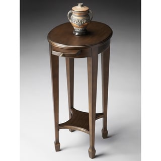 Black on Gold Accent Table