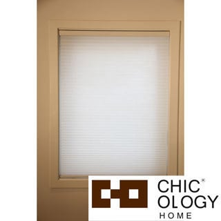 Chicology Chicology Whisper White Cordless Cellular Window Shade