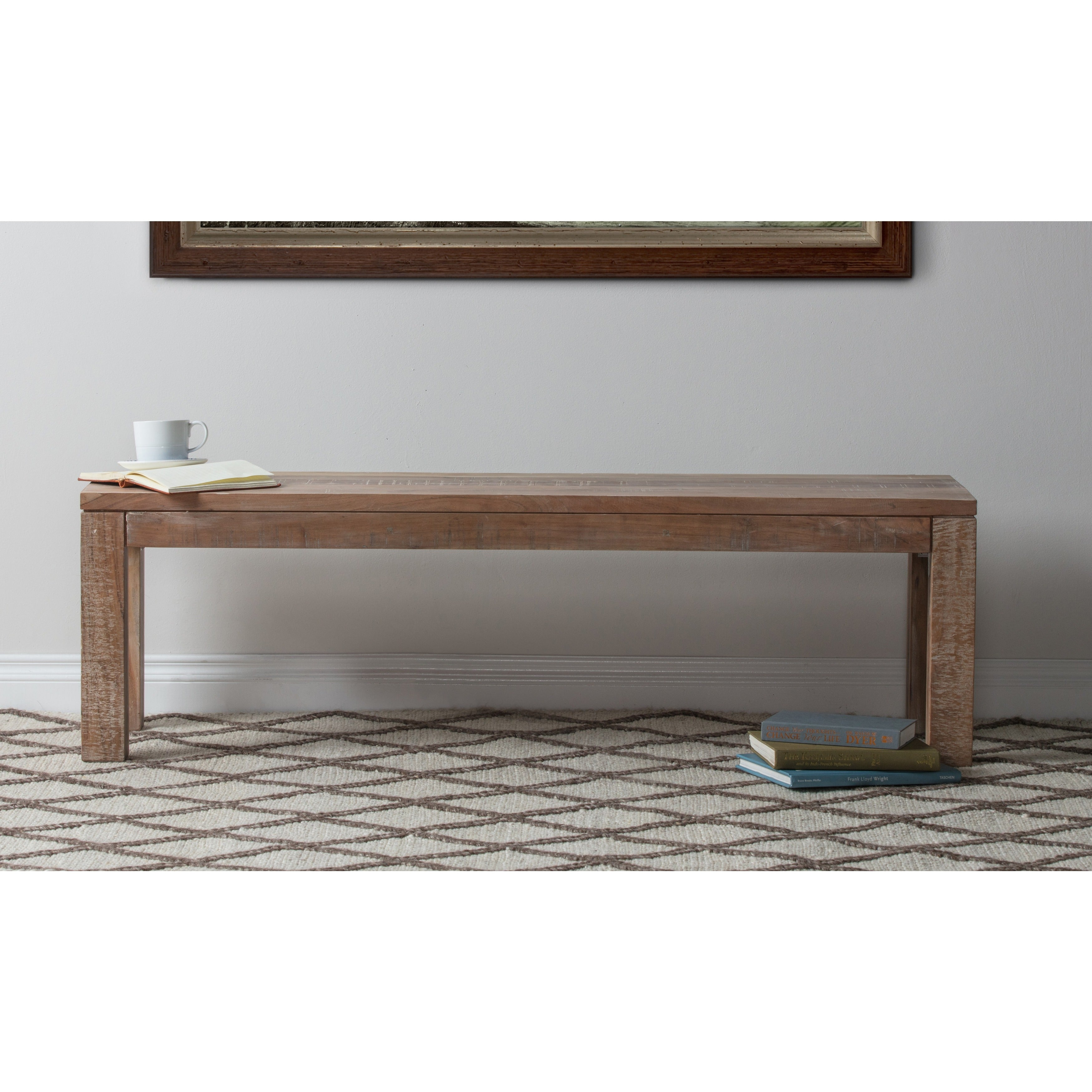 Kosas Collections Hamshire 60-inch Wood Bench