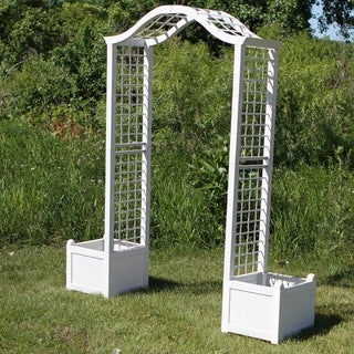 Arbor Trellis with Planter