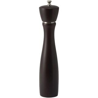 Winco 12-inch Maestro Modern Dark Espresso Peppermill