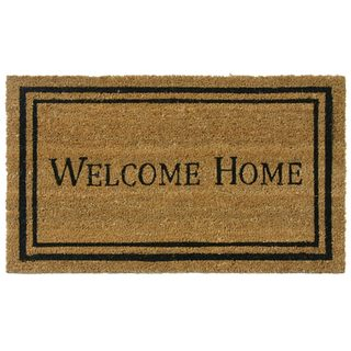 Rubber-Cal Contemporary Welcome Home Mat (18 x 30)