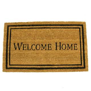 Rubber-Cal Contemporary Welcome Home Mat (24 x 57)