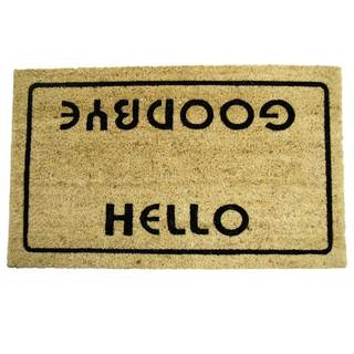 Rubber-Cal Hello Goodbye Doormat (18 x 30)