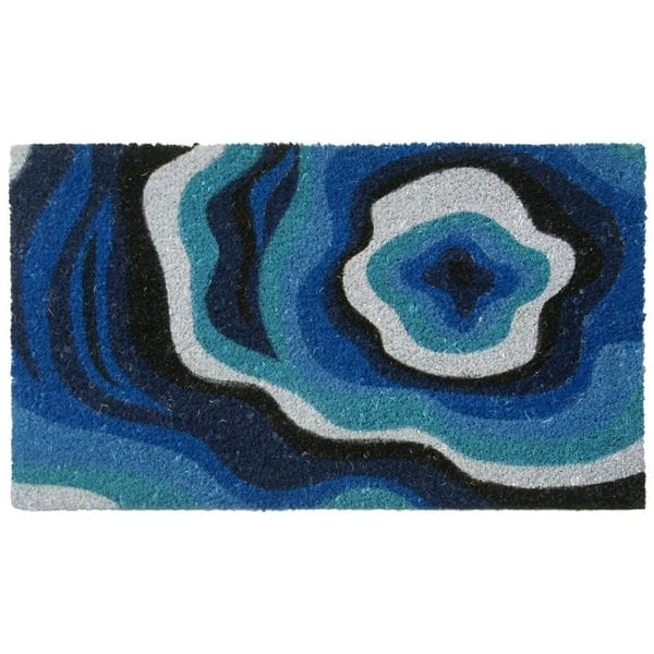 Rubber-Cal Obscure Dimension Modern Door Mat (18 x 30)