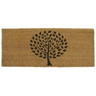Rubber-Cal Modern Landscape Contemporary Door Mat (24 x 57)