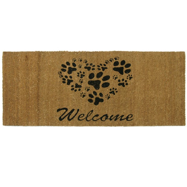 rubber cal 39 wipe your paws 39 doormat 18 x 30