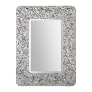 Harrison Textured Foliage Mirror